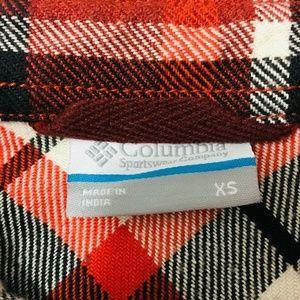 Columbia Tops - Columbia Deschutes River Flannel Plaid Shirt